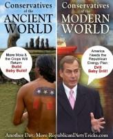 Ancient Conservatives versus Modern Conservatives Image