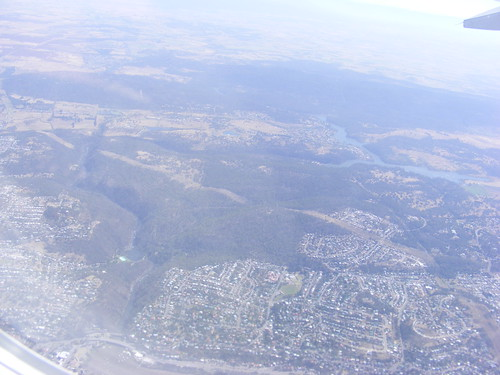 Launceston from the Air