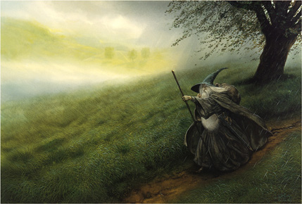 "John Howe's Imagining of ""Lord of the Rings"""