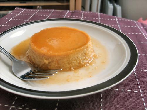 Pumpkin Flan