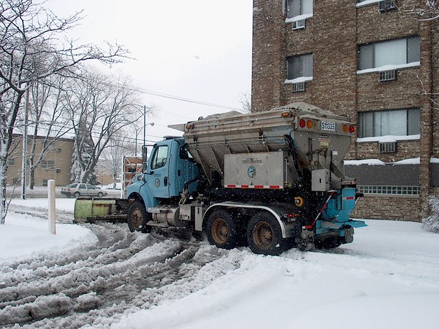 Chicago Snow Truck