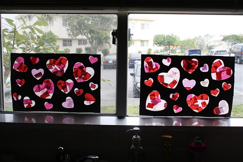 "Valentine's ""Stained Glass"""