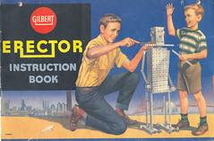 Gilbert Erector Set Instruction Book