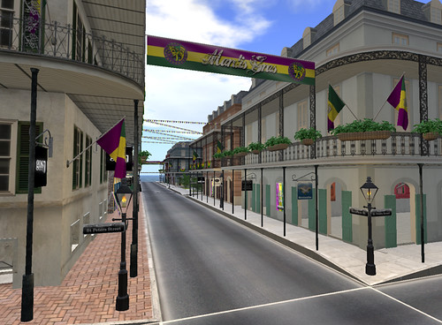 Bourbon Street, Fat Tuesday, a New Orleans-styled sim