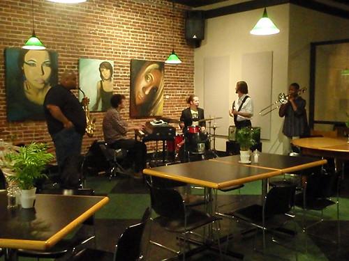 Jazz at Hildegard's: the Odafe Trio