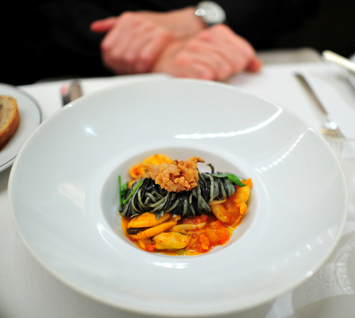 2nd Course: Spaghetti Nero