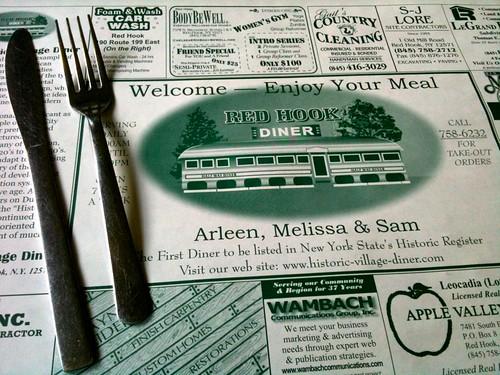 Village Diner Placemat
