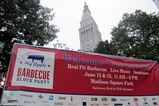 2010 Big Apple Barbecue Block Party