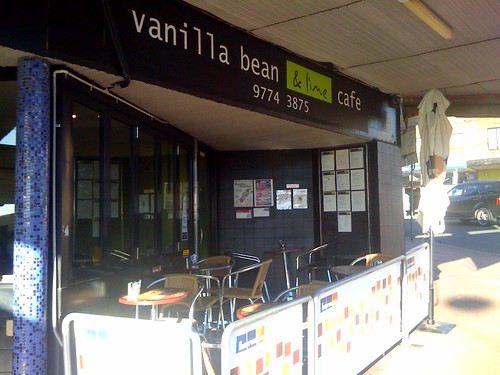 Vanilla Bean and Lime cafe, Padstow