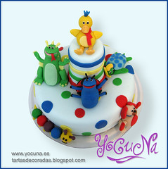 TARTA DECORADA BABY EINSTEIN