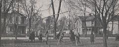 Grandview Grade School Children at Play, 1917