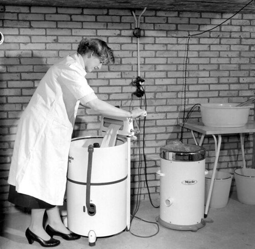 Wringer en centrifuge / Wringer and centrifuge