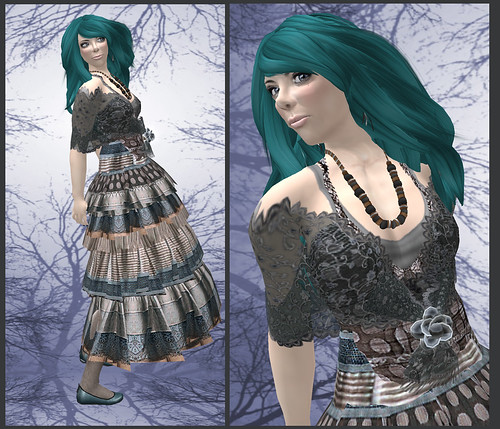 Gypsy in teal