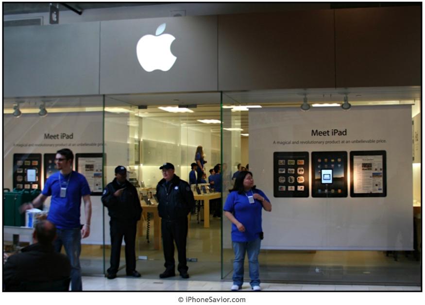 Apple Store iPad Display