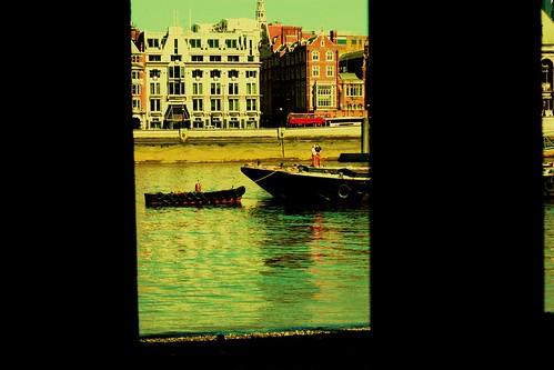 Boat on Thames