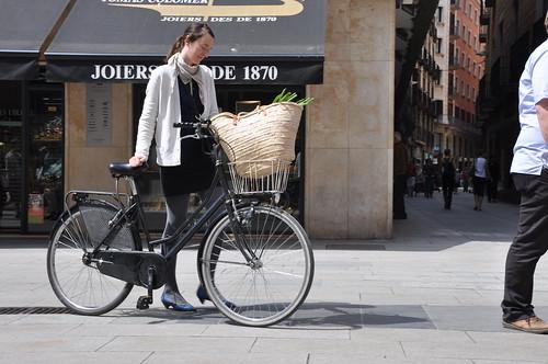 Amb bici al mercat