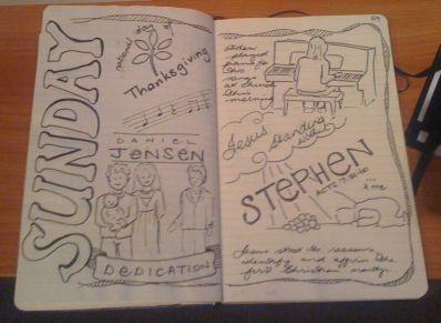 22-2010 // Sunday sketchnotes
