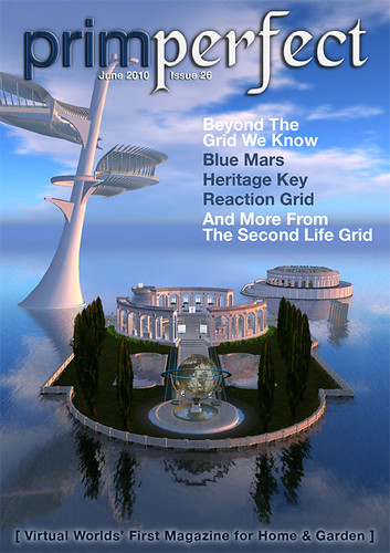 Prim Perfect Issue 26: Cover (showing Heritage Key)