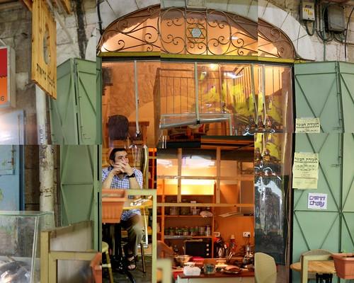 Restaurant in the shuk