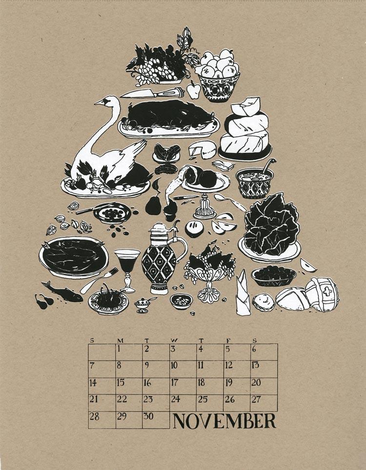 W+K Calendar