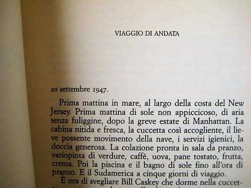 Christopher Isherwood, Il condor, De Agostini 1961, p. 5 (part.)