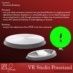 VR Studio posestand