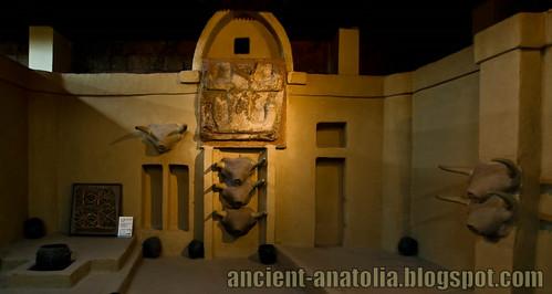 Catalhoyuk Neolithic House