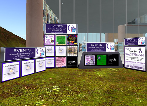 Relay for Life Event Boards