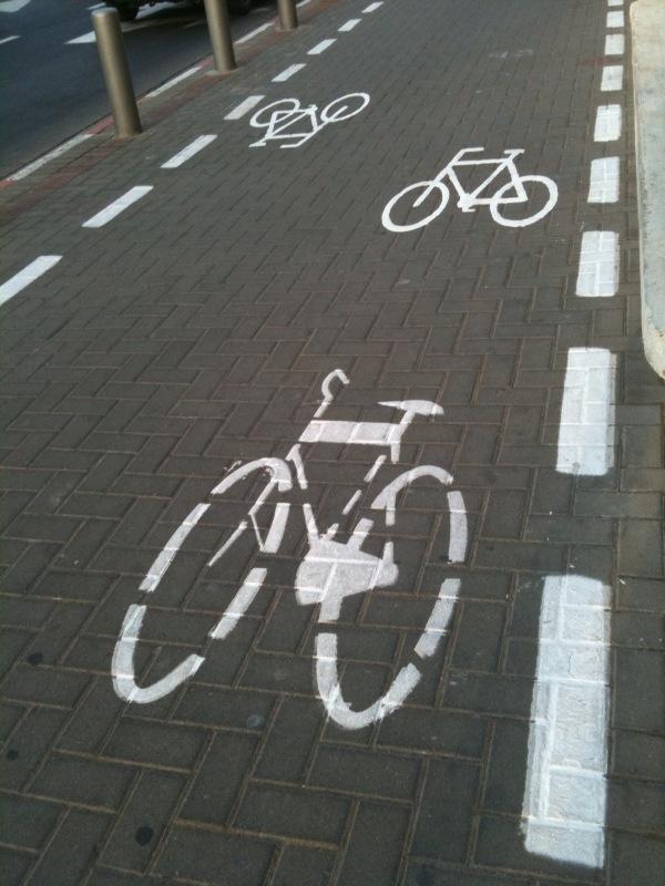 שינו את השבלונה של שבילי האופניים
