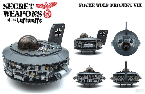 Secret Weapons of the Luftwaffe: F-W P8