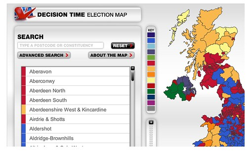 Sky Election Map
