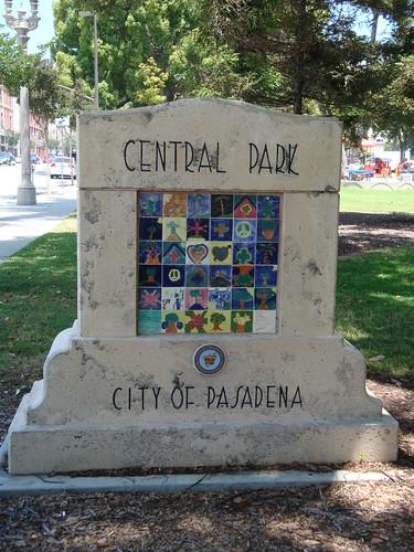 Central Park ~ Pasadena