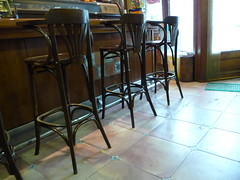 Three bar stools  032