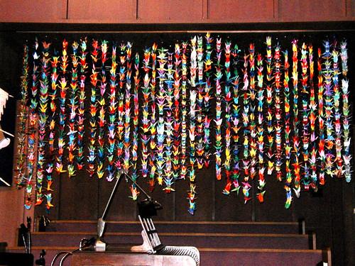 2000 cranes for David