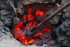 Iron Smelting by hans s, on Flickr