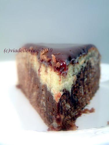 Zebra cake con cioccolatini