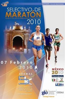 Selectivo Maraton Leon 2010