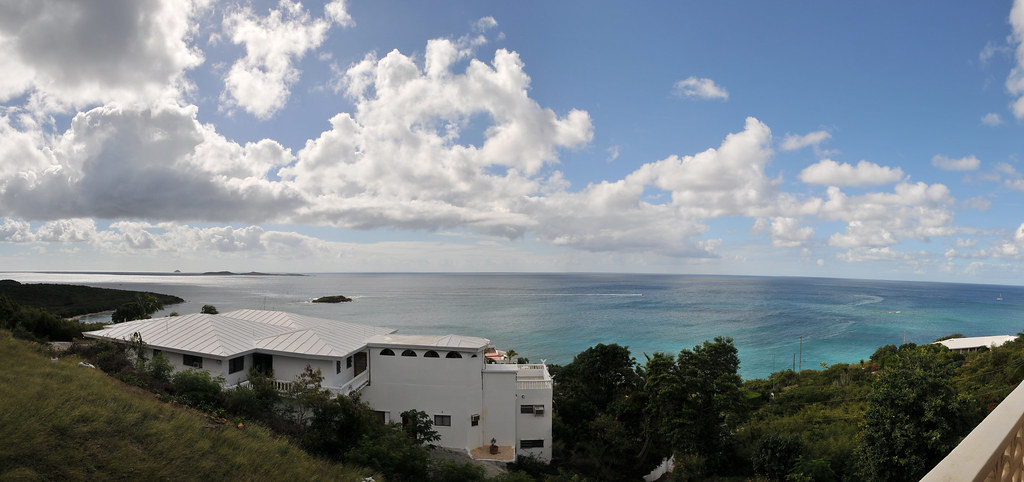 View from the baclony in Saint Thomas