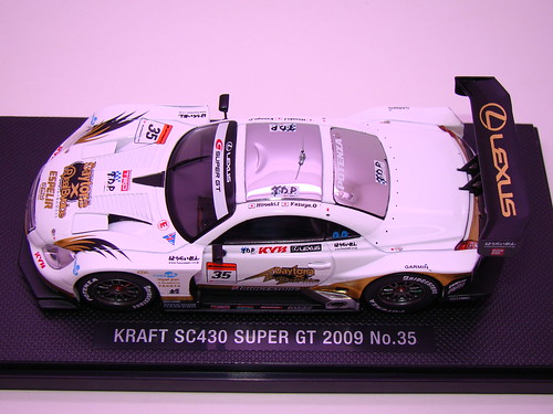 EBBRO KRAFT SC430 SUPER GT 2009 NO (1)