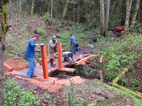 Grand Ridge bridge retrofit