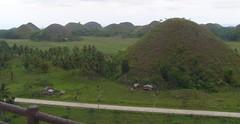 The Chocolate Hills at Sagbayan town