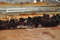 Blueberry Crumble or Grumble :-)