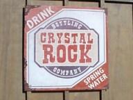 Cedar Point - Shoot the Rapids Crystal Rock Co. Sign