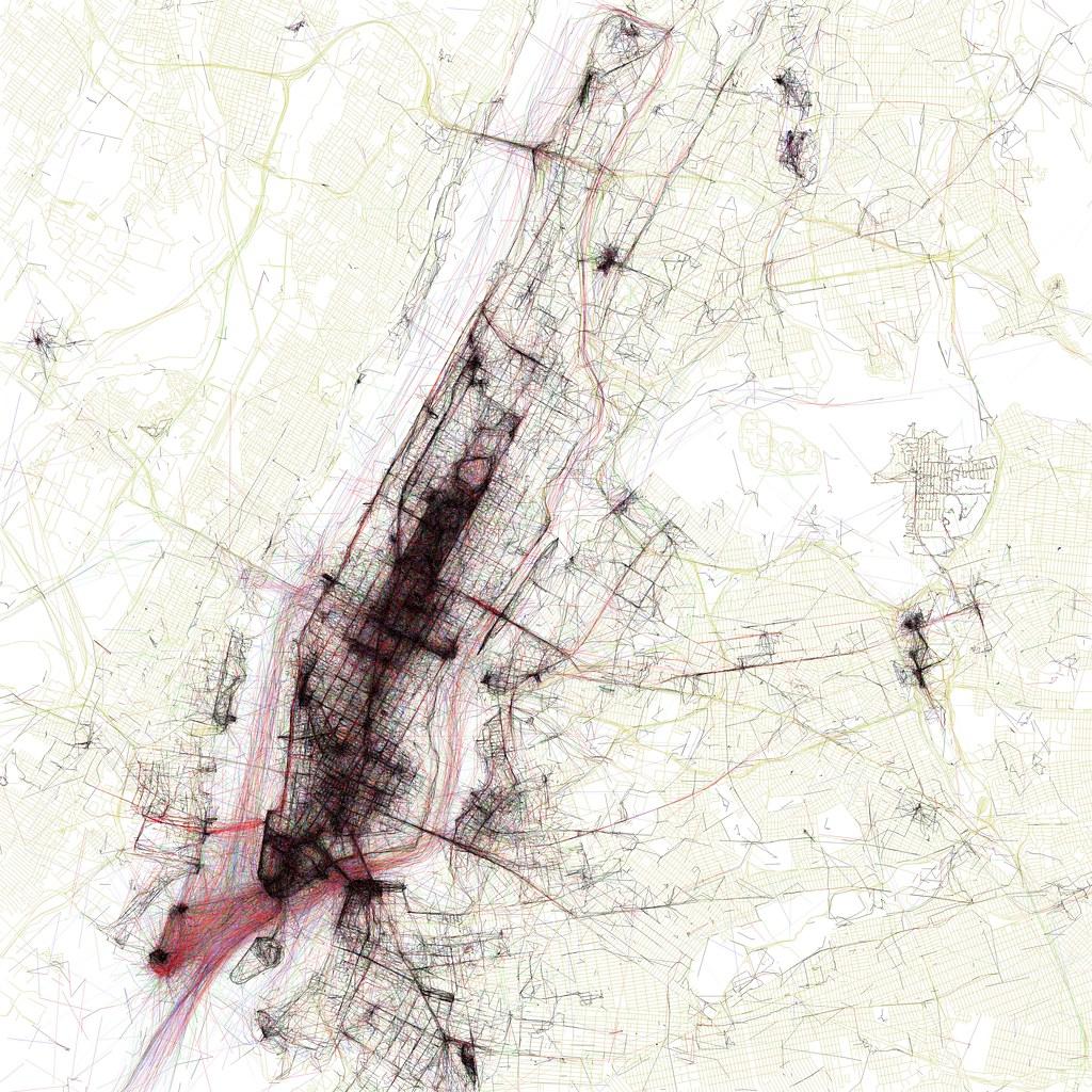 New York City Geotagged