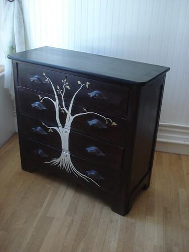 Swankety Swank Showcase: Twilight Tree Dresser (side)