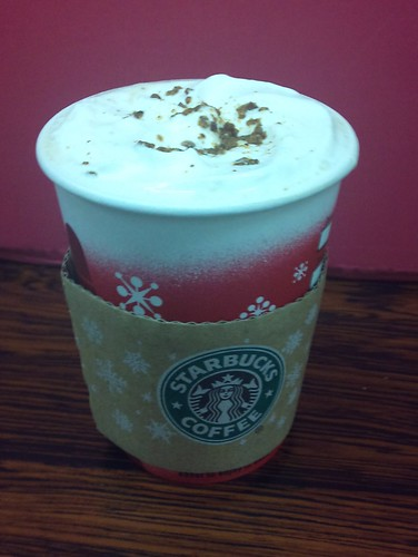 Starbucks Nutty White Mocha