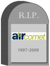 Air Comet Tombstone
