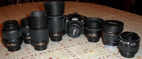 Familia Nikon en la actualidad