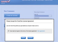 TurboTax Online Caveat