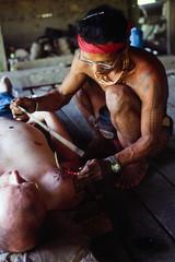 Mentawai Tattooing